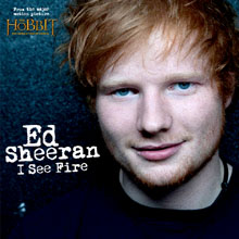 Ed Sheeran I see fire